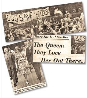 Queen Elizabeth visits Charlottesville 1976