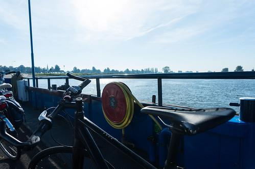 On the Ferry over the IJssel, Heerde - Wijhe