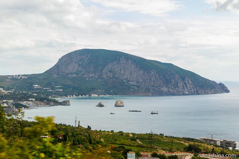 Гурзуф и Аю-Даг, Крым
