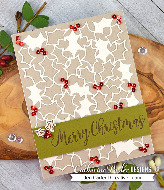 Jen Carter Holly & Berries Christmas