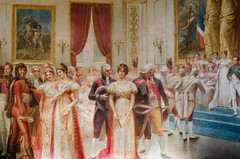 Painting at the main hall of La Mairie de Neuilly-sur-Seine