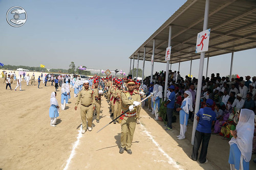 Sewa Dal Band led the procession