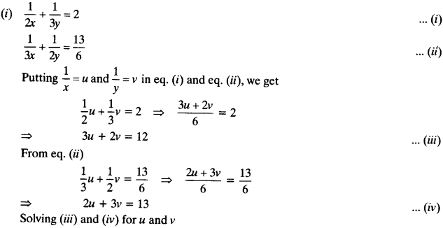 NCERT Solutions for Class 10 Maths Chapter 3 Pair of Linear Equations in Two Variables 71