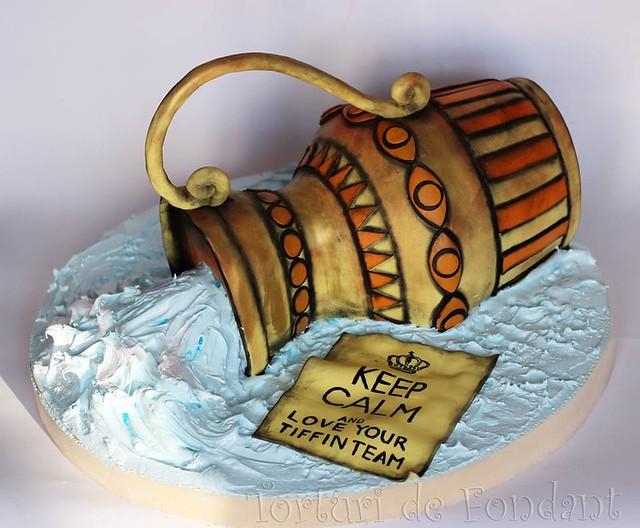 Cake by Torturi de Fondant