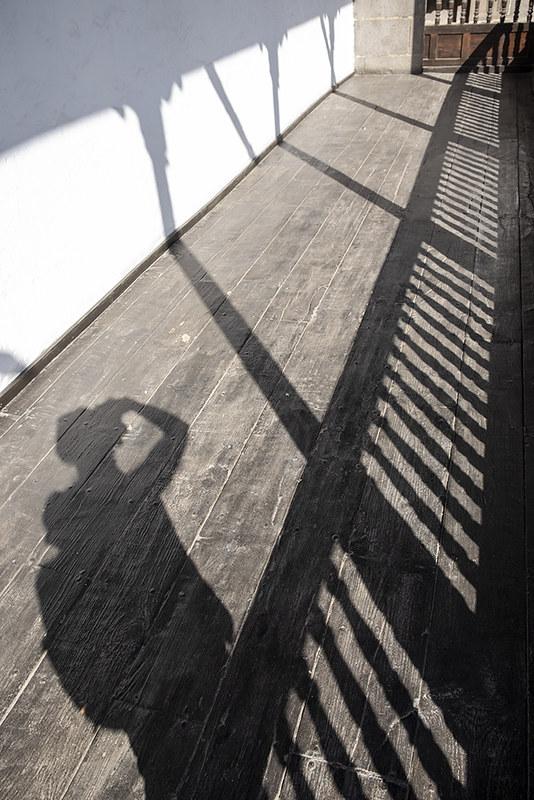 Un balcón de sombras