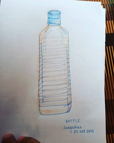 #bottle #inktober2018 #inktober #plasticbottle #day18bottle