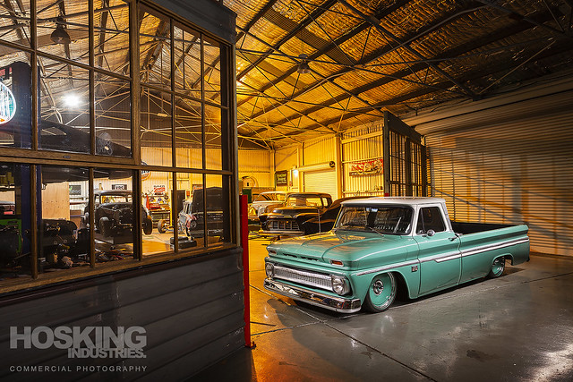 United Speed Shop Chevrolet C10 Truck