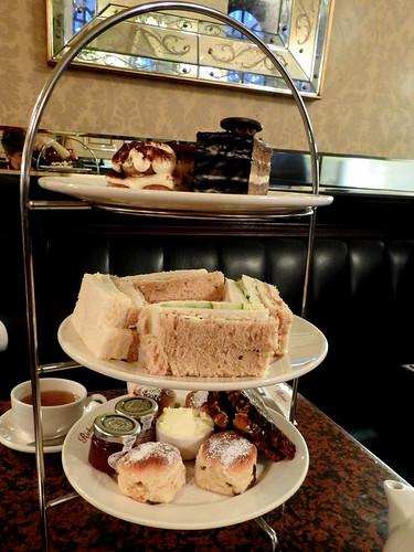 Londra - Mayfair - Tea Room