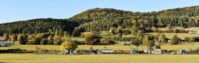 Allotments near Albstadt in Baden-Württemberg