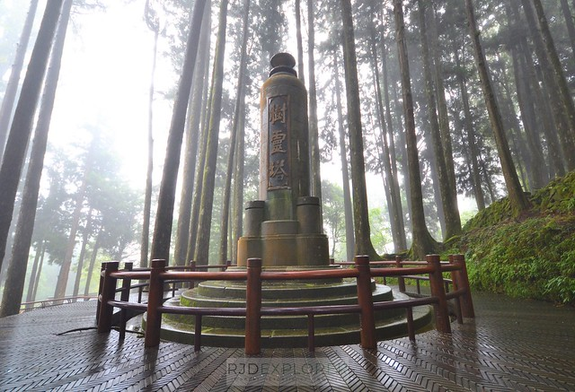 alishan forest tour pagoda of tree spirits