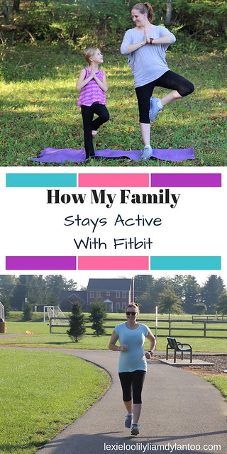How My Family Stays Active With Fitbit! {Featuring the Fitbit Versa Ruby at @Kohls} #fitness #exercise #fitmom #fitnessblog #yoga #running #Downsyndrome #parenting #sponsored