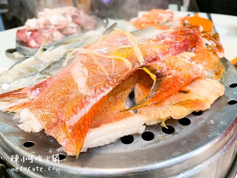 二月牌沙茶爐,二月牌沙茶爐 牛肉/豬肉/海鮮塔-新北市永和店,二月牌海鮮塔 @陳小可的吃喝玩樂