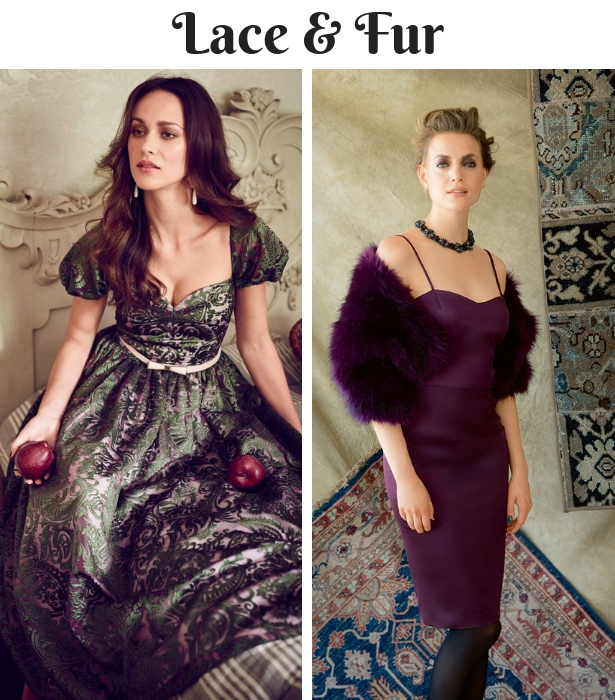 Fall Wedding Wear LAVE AND FUR