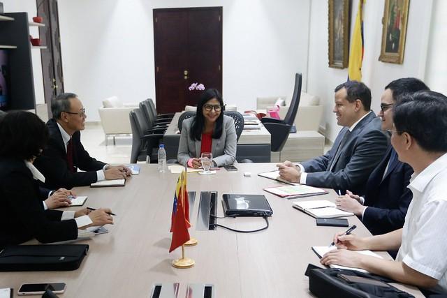 China e Rússia fortalecem relações econômicas com a Venezuela