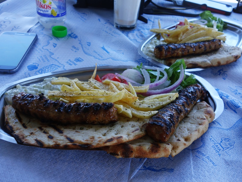 Greek kebabs