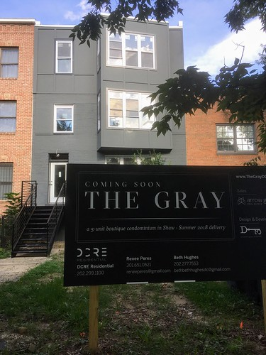 Gray Condo on NJ Ave NW