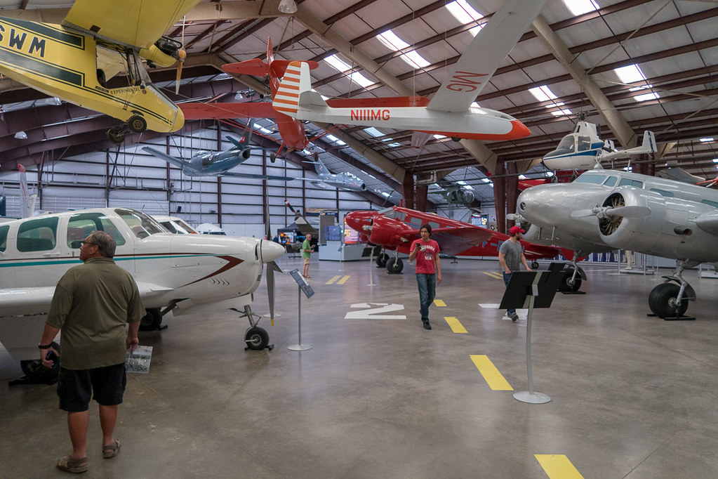 Indoor portion of Pima Air and Space Museum