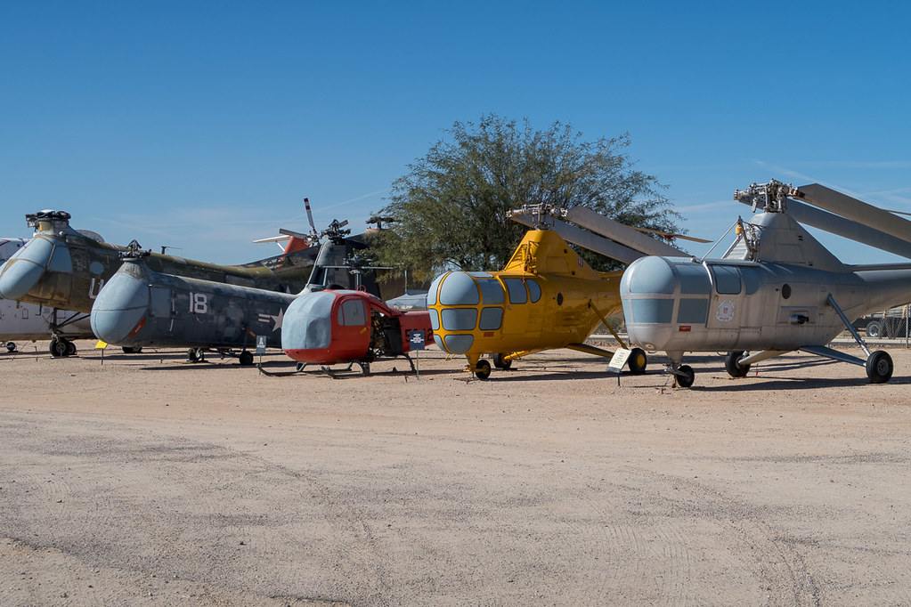 Helicopters at Pima Air and Space Museum   Tucson Airplane Museum