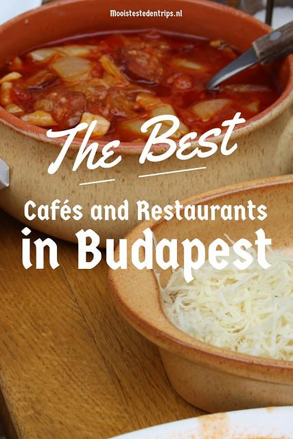 The best cafés en restaurants in Budapest, Hungary | Mooistestedentrips.nl