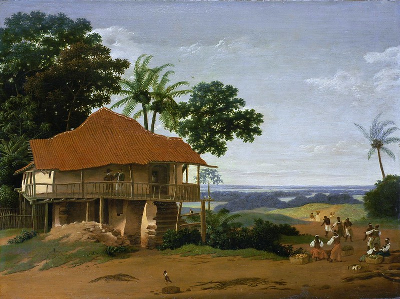 Frans Post - Brazilian Landscape with a Worker's House (c.1655)