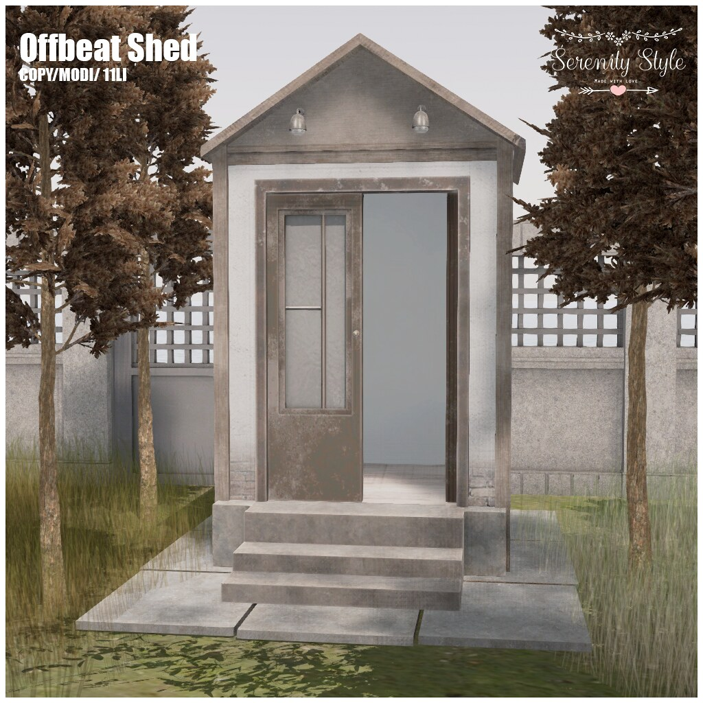 Serenity Style- Offbeat Shed - TeleportHub.com Live!