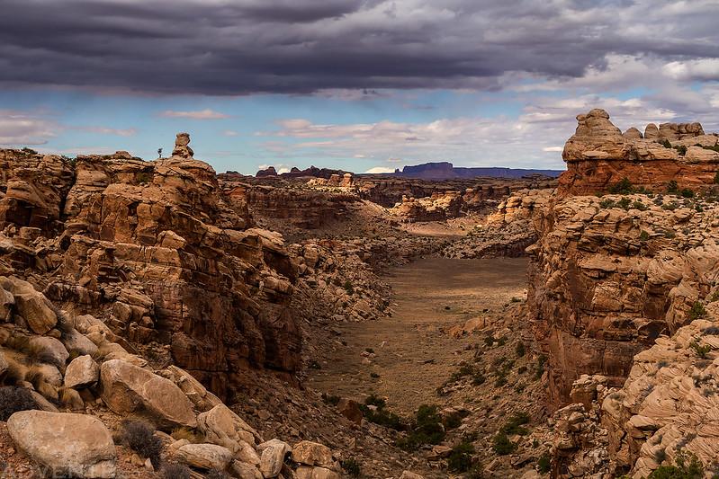 Twin Canyon View