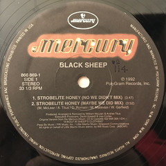 BLACK SHEEP:STROBELITE HONEY(LABEL SIDE-A)