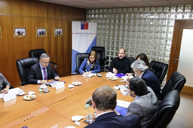 ANEF y FENAMOP reunidos con Consejo de Alta Dirección Pública (02-10-2018)