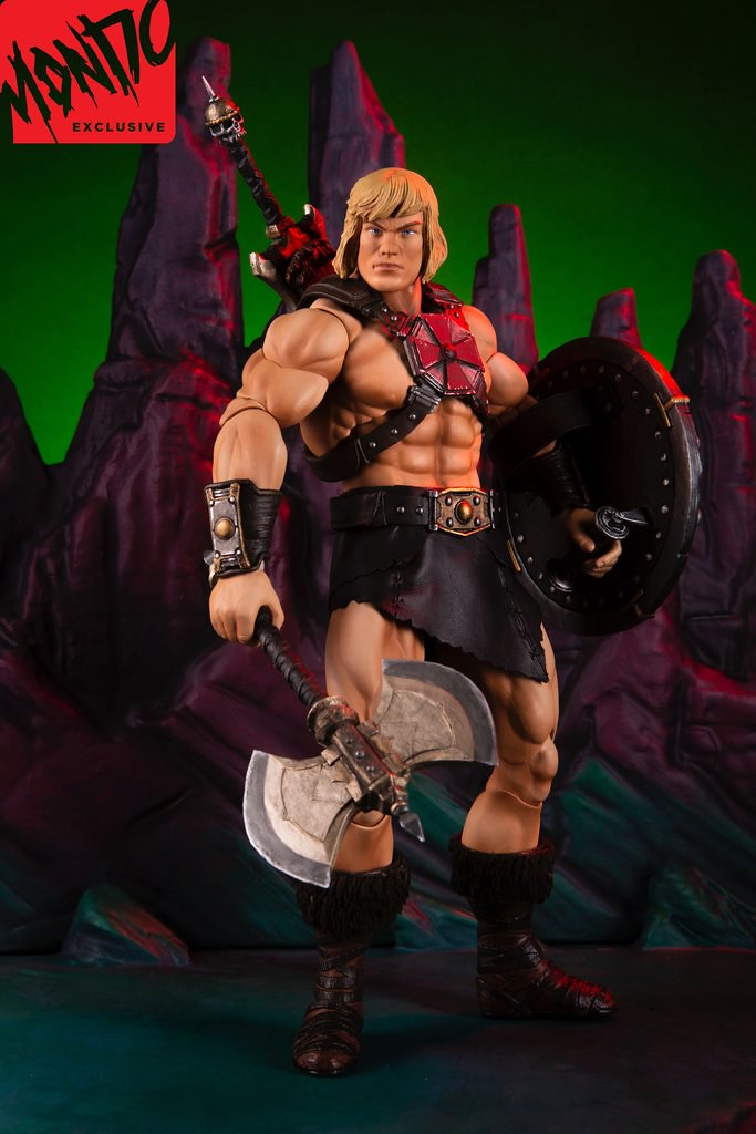 He-Man 1/6 Scale Figure Standard & Mondo Exclusive Edition