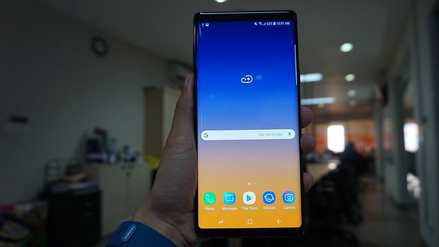 Galaxy Note 9 (Liputan6.com/ Agustin Setyo W)