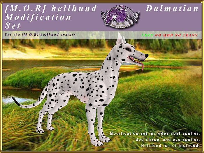 E-MORHellHund-ModificationSet-Dalmatian - TeleportHub.com Live!