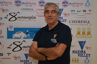 Il direttore sportivo Tony De Pietro