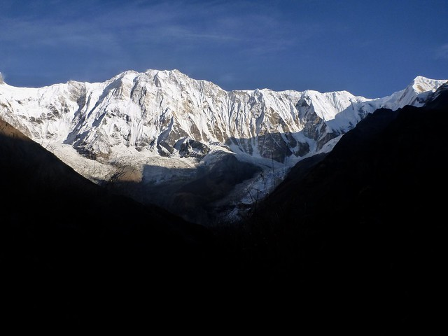 Annapurna I from ABC, Panasonic DMC-FT3