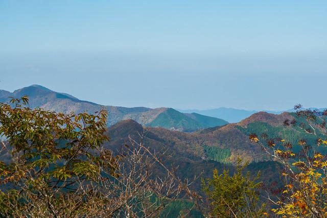 武甲山~有間山稜