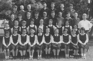 1961 Napier Intermediate Form 1, Room 6, Teacher: Mr Davidson