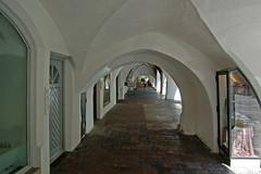 Wasserburg am Inn - Altstadt (05) - Arkaden am Marienplatz