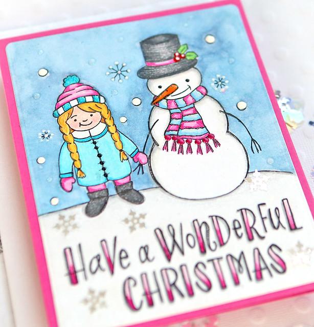 snowman 12 close up
