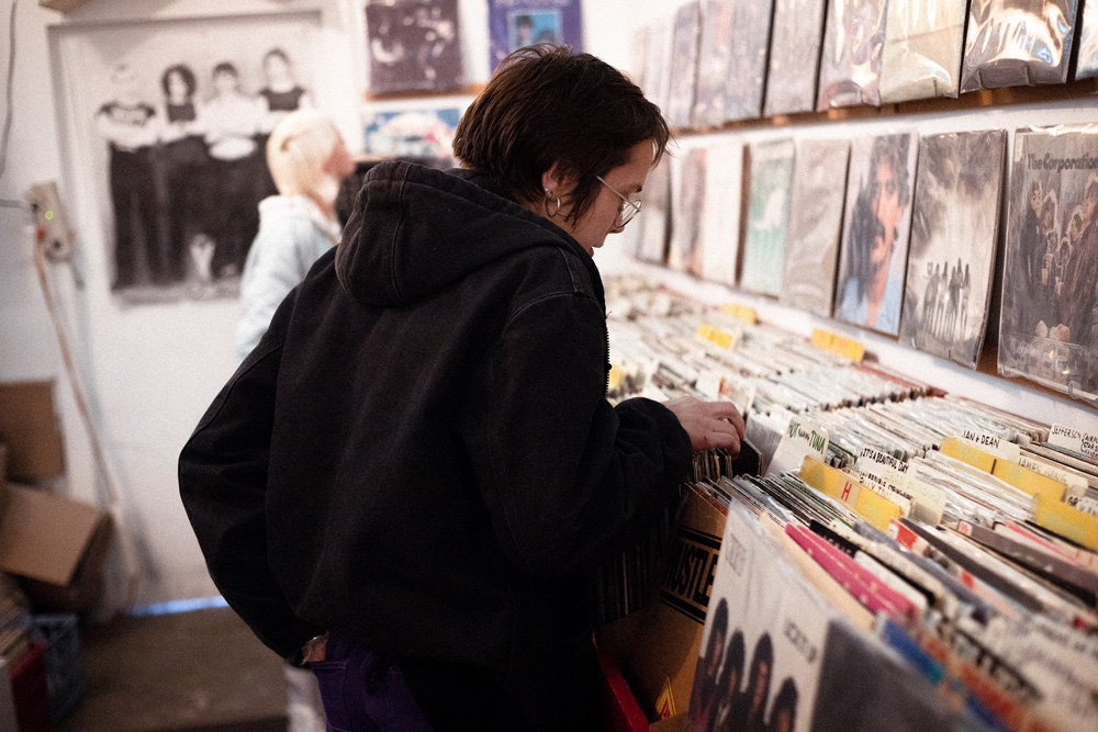 Record Shopping with Dream Wife