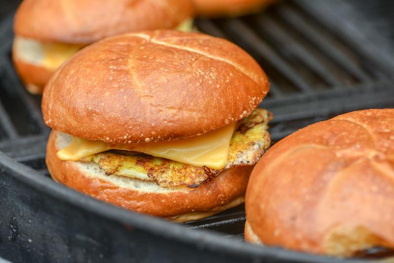 Pork Roll Breakfast Sandwiches