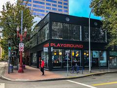 Upper Playground Portland and U.S. Bancorp Tower