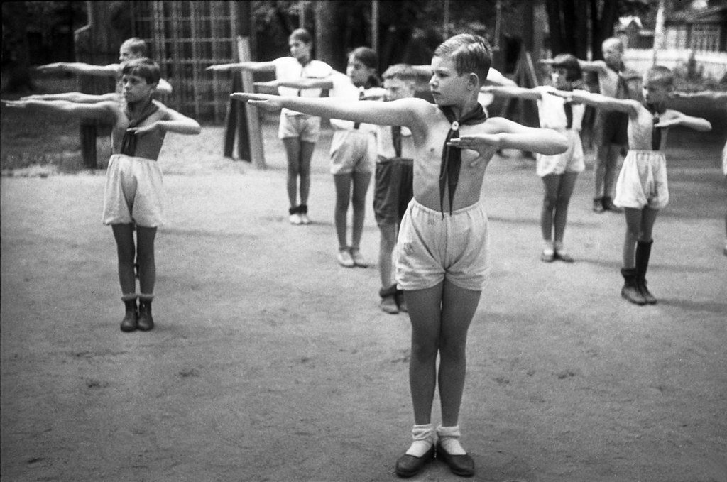 1930-е. Лесная школа