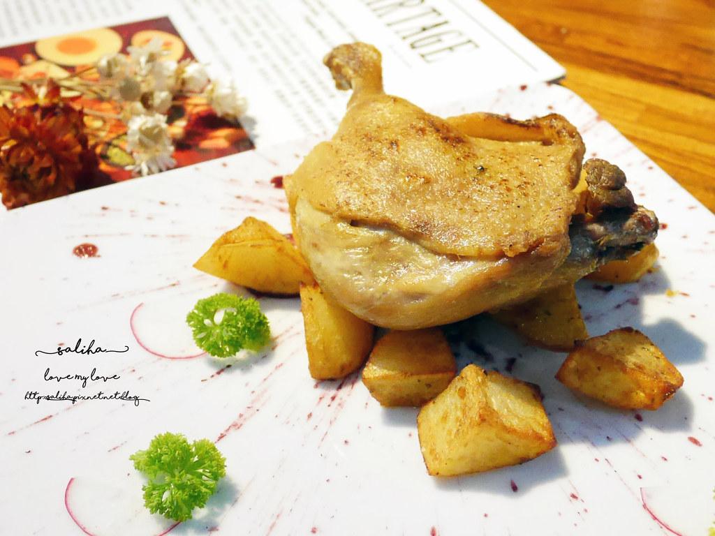 台北浪漫氣氛好情人節法式餐廳推薦Le Partage樂享小法廚好吃油封鴨腿排餐 (2)