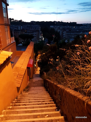 Staircases of Rome