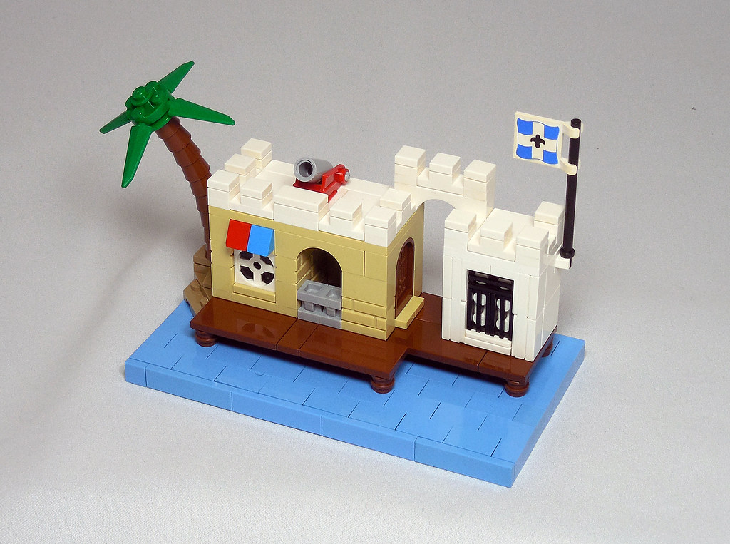 LEGO® MOC by Vitreolum: 6267 Lagoon Lock-Up Micro
