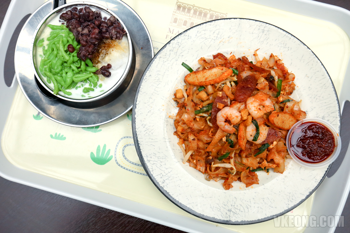 Genting-Malaysian-Food-Street-Char-Koay-Teow-Cendol