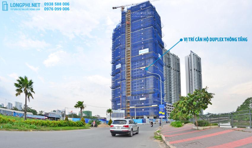 Bán căn hộ duplex thông tầng Riviera Point, The View, The Infiniti giá tốt.