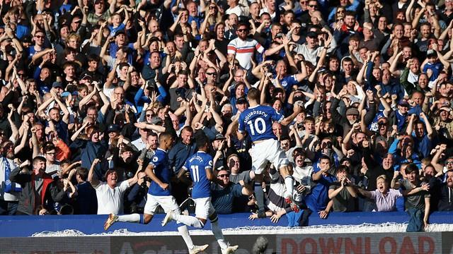 Everton v Fulham