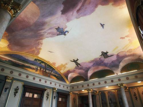 大阪市中央公会堂特別室天井