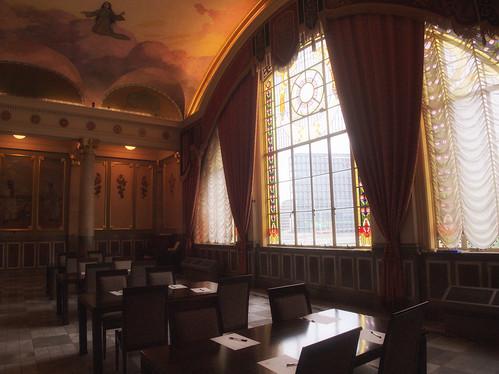 大阪市中央公会堂特別室ステンドグラス