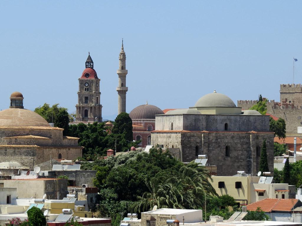 Великий хамам  турецкие бани Мустафа Паши   башня с часами  мечеть Сулеймана  мечеть Мустафы